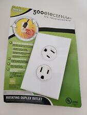 360° degree Rotating Electrical Outlet