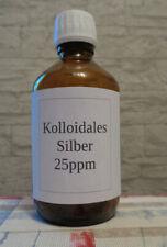 Kolloidales Silber # 250ml #  5-50ppm klassisch - frisch hergestellt