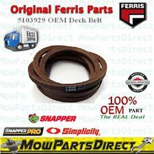 "FERRIS Deck Belt Part # 5103929  Fits IS600 IS 600 48"" Deck OEM ORIGINAL"
