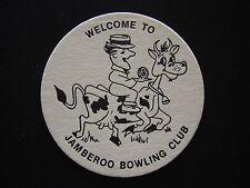 JAMBEROO BOWLING CLUB COASTER