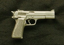 Empire Pewter Personal Defense 9MM Handgun Pewter Pin