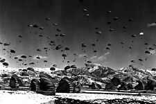 New 5x7 Korean War - Conflict Photo: United Nations Airborne Units in Operation
