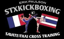 STXKICKBOXING Savate-Thai Cross Training (5) DVD Set with ERIK PAULSON