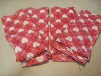 Kitchen Towels Four (4)100% Cotton Kitchen / Bath Towels Cute Heart Design NWT