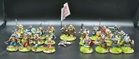 28mm Viking Starter Warband. PAINTED TO ORDER. Foundry Miniatures.