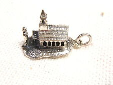 CELLINI STERLING SILVER CHARM CHURCH WITH BRIDE & GROOM