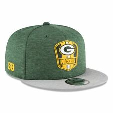 Green Bay Packers NFL Sideline 2018 road New Era 9Fifty