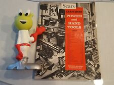 1966 CRAFTSMAN SEARS ROEBUCK Power 7 hand tools catalog 99 pages