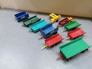 Britains farm Trailers for spares