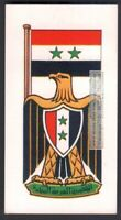 Flag And Standard Banner For Egypt c50 Y/O Trade Ad  Card