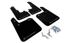 Rally Armor Mud Flaps Guards for 15-16 Subaru Outback (Black w/Silver Logo)