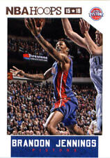 2015-16 Panini NBA Hoops #27 Brandon Jennings Detroit Pistons NM Trading Card
