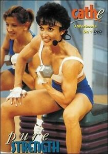 CATHE FRIEDRICH PURE STRENGTH SERIES 3 WORKOUTS DVD NEW SEALED EXERCISE