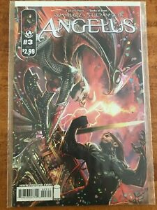 ANGELUS #3 IMAGE TOP COW COMICS BOOK (2009) RON MARZ witchblade -  NM