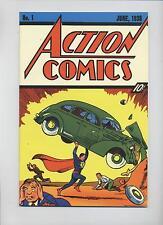 SUPERMAN # 37 - FLIP-COVER REPRINT ACTION COMICS #1 - DINO VERLAG - TOP