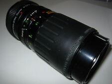 CANON FD FIT 70-210 F4.5/5.6 MC MACRO VIVITAR & SOLIGOR 2X  (420) FILM/DIGITAL