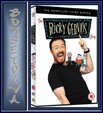 THE RICKY GERVAIS SHOW - COMPLETE SERIES 3 ***BRAND NEW DVD**