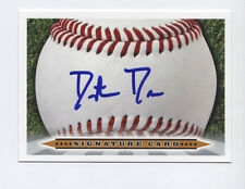 DUSTIN DRIVER Signature Card AUTO signed 2012 Perfect Game All-American A's
