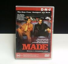 Made DVD - 2001, Jon Favreau, Vince Vaughn, Sean Combs, Swingers Movie