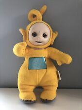 "Vintage Teletubbies Yellow Singing Laa Laa Plush Toy 1998 Hasbro Playskool 16"""