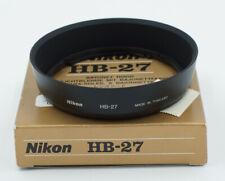 Genuine Nikon HB-27 Lens Hood f/ Nikkor 28-100mm f/3.5-5.6 G AF NOS NEW #783