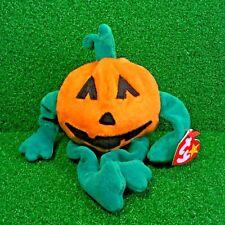 Ty Original Beanie Baby Halloween Special 1999 Pumkin' Trick or Treat :) - MWMT