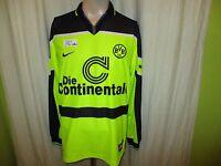 Borussia Dortmund Original Nike Langarm Champions League Sieger Trikot 1997 Gr.L