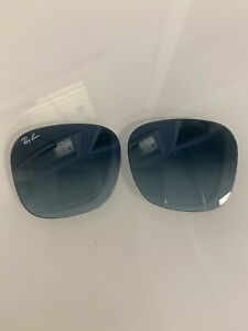 AUTHENTIC Ray Ban Replacement Lenses RB4323 6448/Q8 Blue Gradient