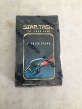 STAR TREK THE CARD GAME FLEER - BOOSTER BOX SEALED BOX!!