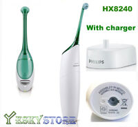 Philips Sonicare Airfloss HX8240 Rechargeable Electric Handle+Nozzle+ Charger