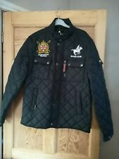 BNWT BLACK GEOGRAPHICAL NORWAY MEN'S JACKET SIZE L /41