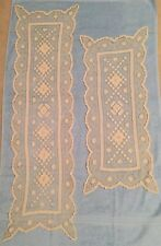 Beautiful Lace Table Runners, Antique, Handmade, Two Lengths - 45� and 32�