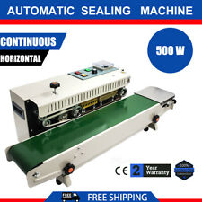 Fr900 Automatic Horizontal Continuous Plastic Bag Band Sealing Sealer Machine