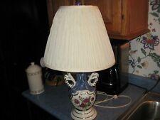 Antique Victorian French Urn Art Deco Ceramic Lamp Signed Ulrich, Circa 1940's