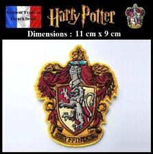 Écusson Thermocollant NEUF (Patch Embroidered) Potter Gryffondor Gryffindor (A)