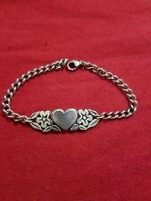 James Avery Heart Flower Bracelet