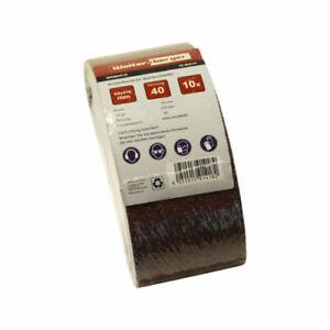 Schleifband 65x410mm Korn P40 - P240 Gewebebänder Bandschleifer Schleifpapier