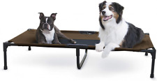 New listing K&H Pet Products Original Cot Elevated Dog X-Large, Chocolate/Black Mesh
