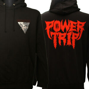 POWER TRIP Hoodie Kapuzenpullover S M L XL Foreseen/Slayer/Municipal Waste/Nails