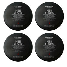 Goldwell Dual Senses Texture Cream Paste for Men 3.3 oz (4 PACK)