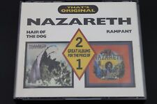 Nazareth ‎– Hair Of The Dog / Rampant- That's Original (1988) (2xCD) (TFO13 1/2)