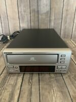ONKYO C-707CHX Compact 3 Disc CD Changer - FOR PARTS ONLY U5