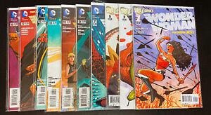 WONDER WOMAN (2011 DC Comics) -- #0 1 2 3 4 5 6 7 8 9 to 52 + Extras -- FULL Set
