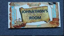 Children's Pirates for Boys Girls Plaques & Signs