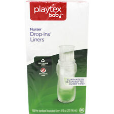 Playtex Drop-Ins 100 Disposable Bottle Liners 8-10 oz