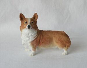 RARE BORDER FINE ARTS CORGI DOG. FREE STANDING. MADE IN UK. 1998. VGC.
