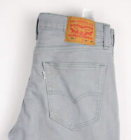 Levi's Strauss & Co Hommes 511 Slim Jeans Extensible Taille W34 L30 ASZ406