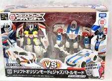 Transformers Takara TAV VS05 Drift vs Jazz Deluxe Class Complete