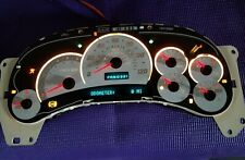 0 Miles For 2003 04 05 HUMMER H2 INSTRUMENT CLUSTER with NEW Chrome Lens Cover