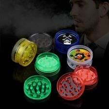 Mini 2 Layer Tobacco Grinder Leaf Herbal Herb Smoke Spice Crusher Hand Muller